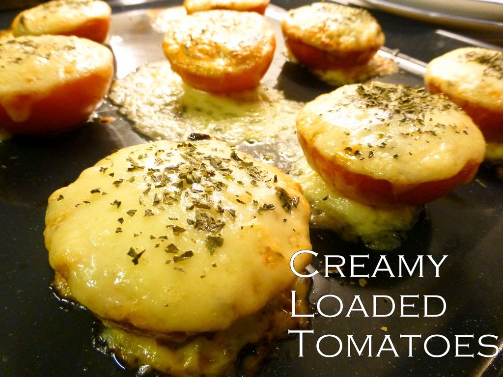 creamy and filled tomatoes recipe